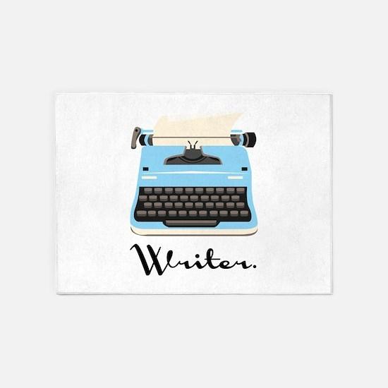 Writer 5'x7'Area Rug