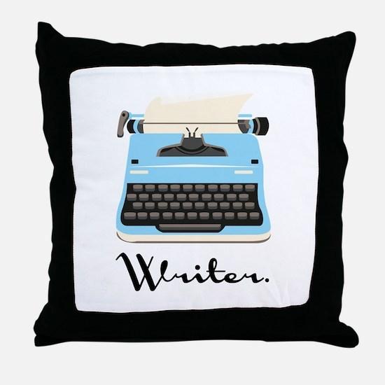 Writer Throw Pillow