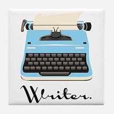 Writer Tile Coaster