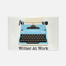Writer At Work Magnets