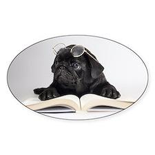 Black Pug Decal