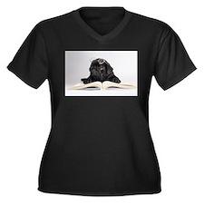 Black Pug Plus Size T-Shirt