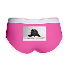 Black Pug Women's Boy Brief