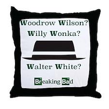 Breaking Bad Walter White Throw Pillow