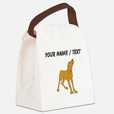 Redbone Coonhound (Custom) Canvas Lunch Bag