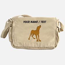 Redbone Coonhound (Custom) Messenger Bag