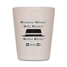 Breaking Bad Walter White Shot Glass