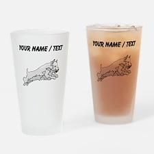 Westie (Custom) Drinking Glass