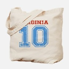 Virginia 10 Tote Bag