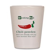 Breaking Bad Chili Powder Shot Glass