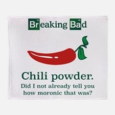 Breaking Bad Chili Powder Throw Blanket
