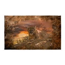 Sunset Cougar Area Rug