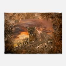 Sunset Cougar 5'x7'Area Rug