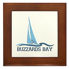 Buzzards Bay - Cape Cod. Framed Tile
