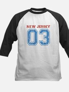 New Jersey 03 Baseball Jersey