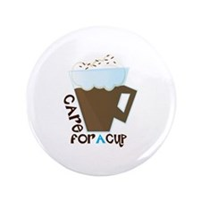 "A Cup 3.5"" Button"