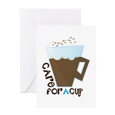 A Cup Greeting Cards