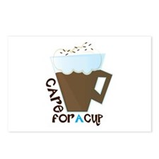 A Cup Postcards (Package of 8)