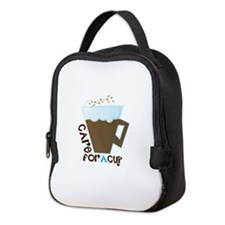 A Cup Neoprene Lunch Bag