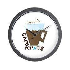A Cup Wall Clock