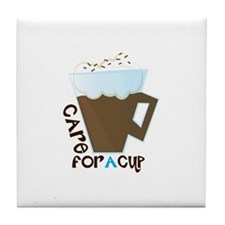 A Cup Tile Coaster