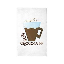 Hot Chocolate Area Rug