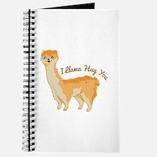 Llama Hug Journal