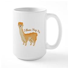 Llama Hug Mugs