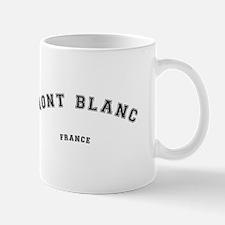 Mont Blanc France Mugs