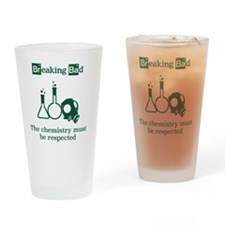 Breaking Bad Chemistry Drinking Glass