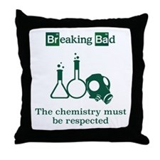 Breaking Bad Chemistry Throw Pillow
