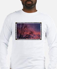 Skies on Fire Long Sleeve T-Shirt
