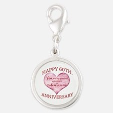 60th. Anniversary Charms