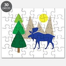 Moose Scene Puzzle
