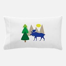 Moose Scene Pillow Case