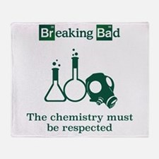 Breaking Bad Chemistry Throw Blanket