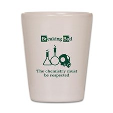 Breaking Bad Chemistry Shot Glass