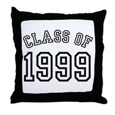 Class of 1999 Throw Pillow