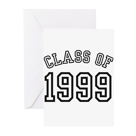 Class of 1999 Greeting Cards (Pk of 10)