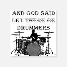 God Made Drummers Sticker