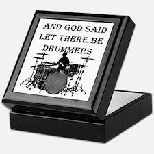 God Made Drummers Keepsake Box