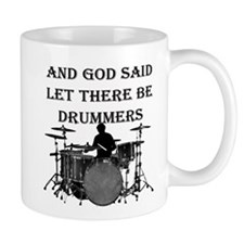 God Made Drummers Mugs