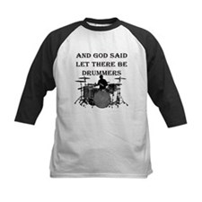 God Made Drummers Baseball Jersey