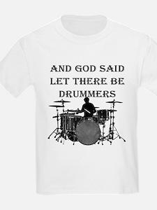God Made Drummers T-Shirt