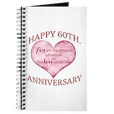 60th. Anniversary Journal