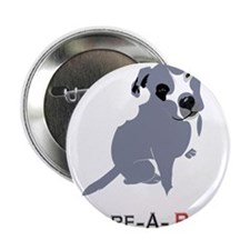 "Grey Pittie Puppy Adore-A-Bull 2.25"" Button"