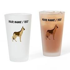 German Shepherd (Custom) Drinking Glass
