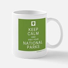 NPF's keep calm green Mug