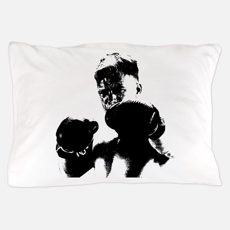 athlete boxing Pillow Case