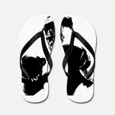 athlete boxing Flip Flops